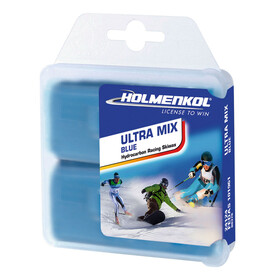Holmenkol Ultramix Base Wax 2x35g Blue